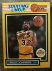 1989 Kenner Starting Lineup One On One Magic Johnson Card HOF