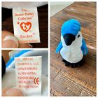 ORIGINAL Ty Beanie Baby: Rocket The Bluejay (DOB March 12, 1997)
