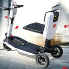 3 Wheel Recreational Electric Mobility Scooter 3Speed E Scooter Red White USED