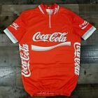Vintage Coca Cola Cycling Jersey Size M Made in Italy