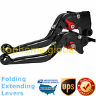 For Yamaha MT-03 2015-2020 Folding Extendable Clutch Brake Levers Black/Red US