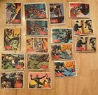 1966 Topps (A&BC) Batman & Robin Trading Cards Printed in England, Various Cond