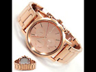 DKNY Women's Lexington Rose Gold S/ Steel Chronograph Watch Mirrored Dial NY8862