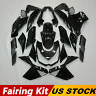 For Kawasaki Z1000 2010-2013 12 Glossy Black Fairing Kit ABS Injection Body Work