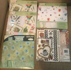 Scrapbook Lot Colorbok Natures Garden Deluxe Kit Papers 12x12 Green Hues 5 Packs