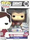 Eli Manning #18 New York Giants NFL Funko POP Figure Toys R Us Exclusive RED