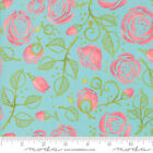 Abby Rose Seafoam 48671 15 By Robin Pickens For Moda Fabrics - Quilt Floral