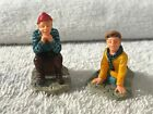 Christmas village accessories Lemax set of 2 figurines The story teller EX3971