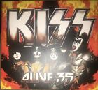 Kiss Alive 35 Double Cd Rare Instant Live Authentic Soundboard Recording Norway