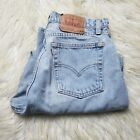 Vintage Levis 560 Womens Light Wash Cropped Mom Jeans Size 13