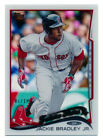 2014 TOPPS #439 JACKIE BRADLEY JR CLEAR ACETATE PARALLEL RED SOX SSP #7 10