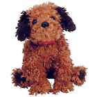 Tunnels the Shaggy Brown Dog Ty Beanie Baby Retired MWMT Collectible