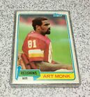 Art Monk Cards, Rookie Card and Autographed Memorabilia Guide 8
