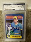 Paul Molitor Cards, Rookie Card and Autographed Memorabilia Guide 35