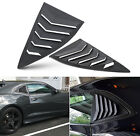 Side Window Louvers for Chevy Chevrolet Camaro 2010 2011 2012 2013 2014 2015