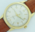 17 Jewels Swiss made Olma Incabloc automatic Men's vintage Watch gold 20 microns