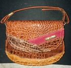 La Toscana Authentic Crocodile Skin Purse