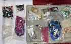 Assorted Lot Of Mixed Glass Beads and Stones New  Used Jewelry Supplies Crafts