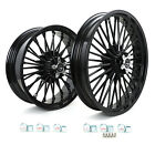21 18 Front Rear Cast Wheels Single Disc for Harley Dyna Low Rider Street Bob