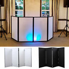 DJ Event Facade White+Black Scrim Metal Frame Booth +Travel Bag Case