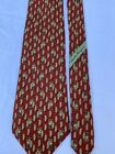 SALVATORE FERRAGAMO GORGEOUS SILK TIE WITH NATIVE MEN