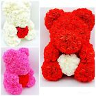 40cm Mothers Day Rose Teddy Bear Flower Perfect Gift Rose Bear Forever rose