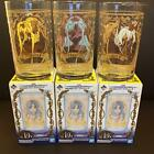 Sword Art Online Glass 3 Set Clear Bandai Anime Manga Asuna Chinon Alice Japan