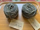 2 of MANOS del URUGUAY silk blend Wool yarn Kettle dyed earthy brown color NEW