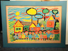 VINTAGE ARTIST PROOF RICHARD SMITH 25 X 17 VIVID COLOR GREAT FOR CHILDS ROOM
