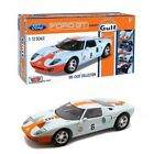 Motor Max 79639 Ford GT Concept Car Gulf Oil Livery Diecast Scale 112