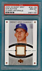 2005 UD Sweet Spot Don Sutton Game Used Jersey #CM-DS PSA 10! Dodgers! POP 1!