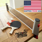 Retractable Table Tennis Ping Pong Portable Net Kit The Pongy Express Brand