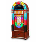 Crosley Digital LED Jukebox with Bluetooth Walnut With Stand
