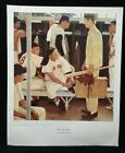 The Rookie by Norman Rockwell, Print