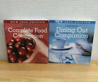 2 WEIGHT WATCHERS Points Program WW COMPLETE FOOD DINING OUT 09 COMPANION Books