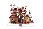 Lemax 95462 Kringle's Cottage, New 2019 Santa's Wonderland Village Sights