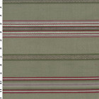Valdese Stripe Pamlico Wisteria Gray Home Decorating Fabric Fabric By The Yard