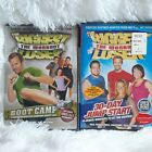 The Biggest Loser The Workout Exercise Workout Boot camp DVD Lot 2 NEW
