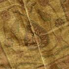 Dirty Gold Multi Spade Panel Chenille Tapestry Decor Fabric Fabric By The Yard