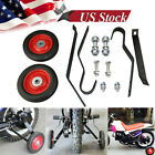 Motorcycle Training Wheels Rear Mounted For Peewee 50cc LX50 PW50 PY50 Mini Bike