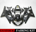 Glossy Black Fairing Kit For SUZUKI GSXR1000 GSX-R 1000 2001 2002 ABS Injection