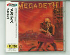MEGADETH Peace Sells... But Who's Buying? JAPAN CD TOCP-3027 NEW s7761