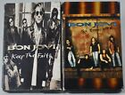 Bon Jovi Lot of 2 Cassette Tape Singles Keep The Faith & In These Arms 1992 & 93