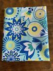 Fat Quarter Blue Yellow White Green Floral Print Cotton Quilting Fabric