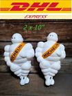 2 x 10 LIGHT MICHELIN MAN DOLL FIGURE BIBENDUM ADVERTISE TIRE FREESHIPPING