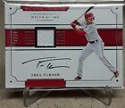 2017 National Treasures TREA TURNER Auto Autograph Material Ink Jersey Relic 25