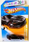 2012 Hot Wheels NEW MODELS 23  12 COVERTTE Z06  BLACK CHEVY VET