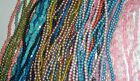 45 STRAND 36 SPACER BEADS ROUND NUGGETRICE ASSORTED COLORS JEWELRY MAKING