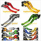 9 Style Levers For Kawasaki Ninja 250 300 400 08-20 Clutch Brake Short/Long/Fold