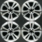 Lincoln MKS Machined 18 OEM Wheel Set 2010 to 2013